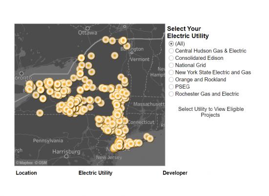 Shared Solar Nyc New York Solar Map Ysg Solar Ysg Solar