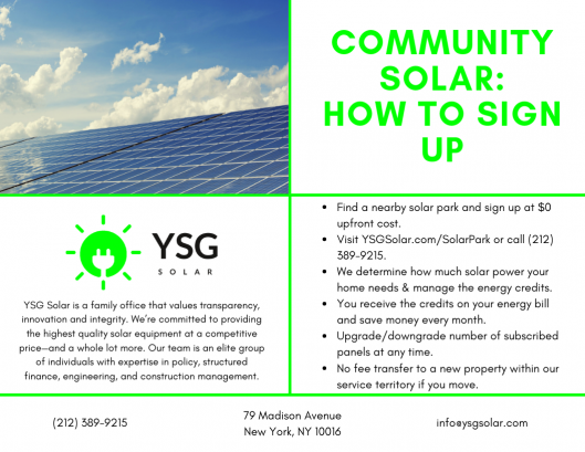 Community Solar Buffalo New York Ysg Solar Ysg Solar