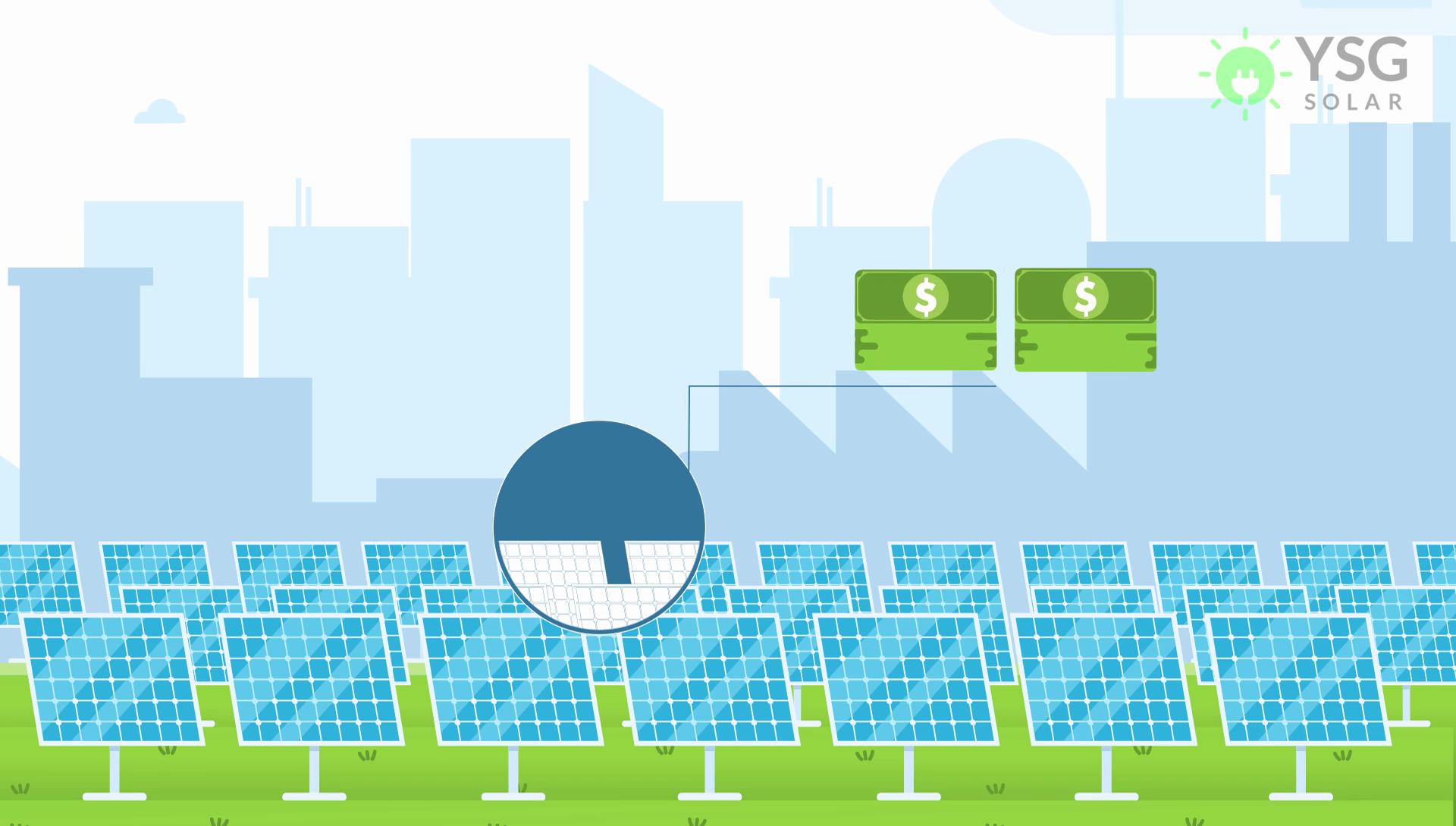 Community Solar Garden and Cash Savings