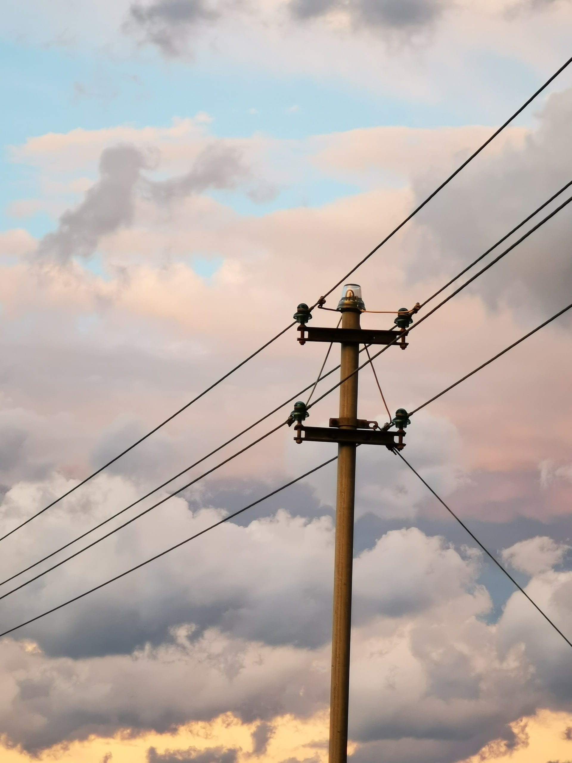Distribution Power Line, YSG Solar