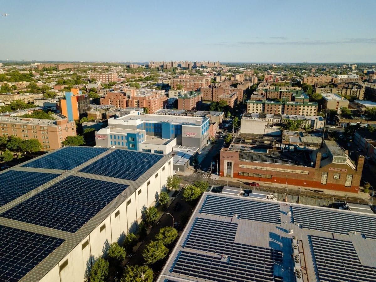 East Brooklyn Community Solar Garden, YSG Solar