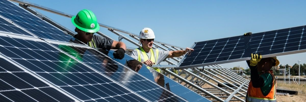 Solar Company Workers