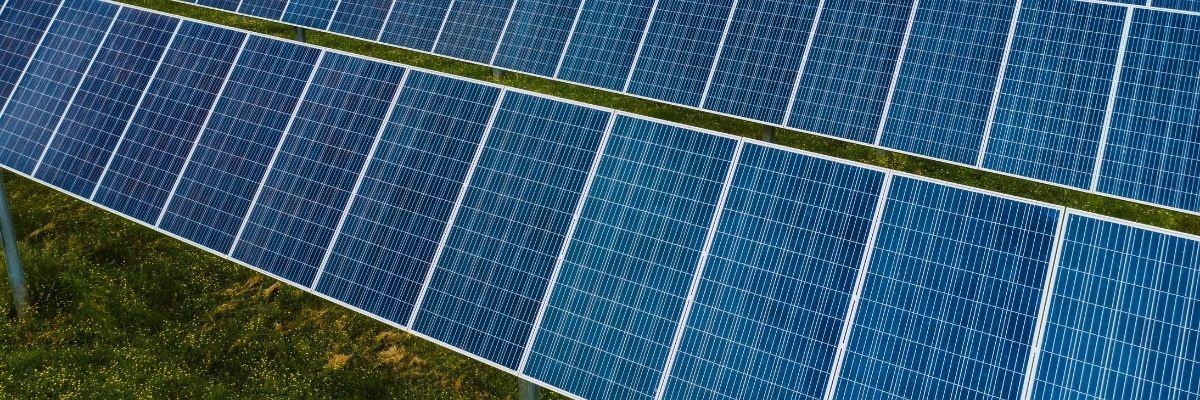 Solar Panels Green Grass, YSG Solar