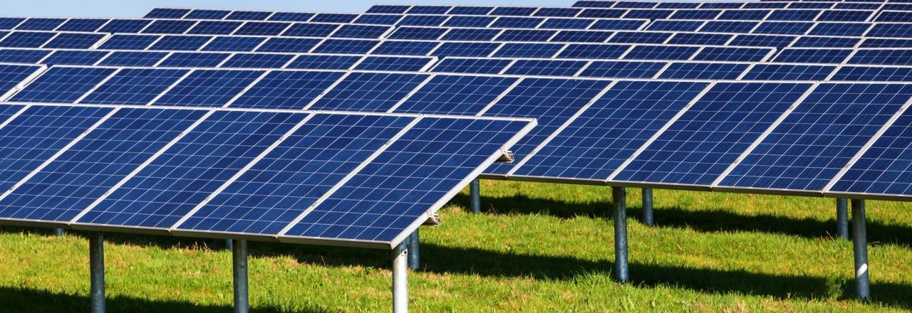 YSG Solar, Solar panels in an open field, NY