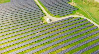 Large Solar Panel Farm, YSG Solar
