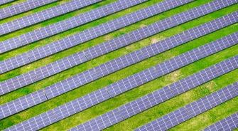 Large Solar Farm, YSG Solar