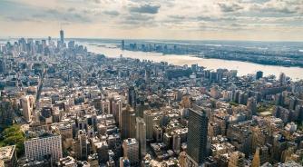 New York, Manhattan, City, YSG Solar