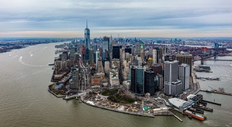 New York, Manhattan, Skyline, YSG Solar