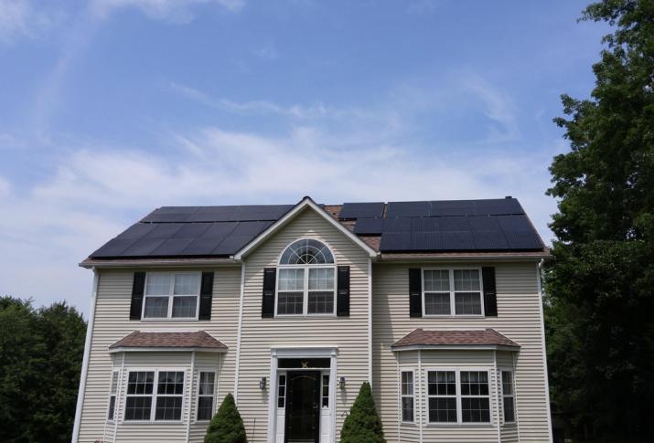 YSG Solar, Solar panels on house, NY