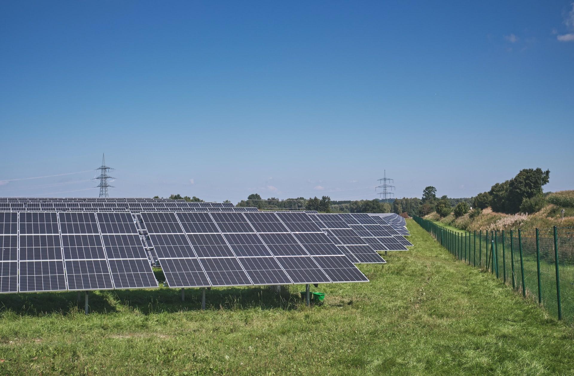 Ground Mounted Solar Array, YSG Solar