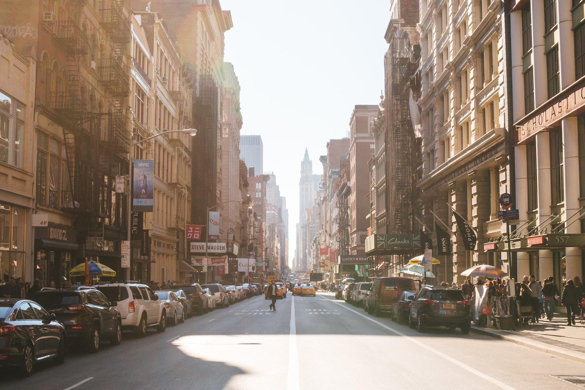 Broadway, New York City, NYC, New York, YSG Solar