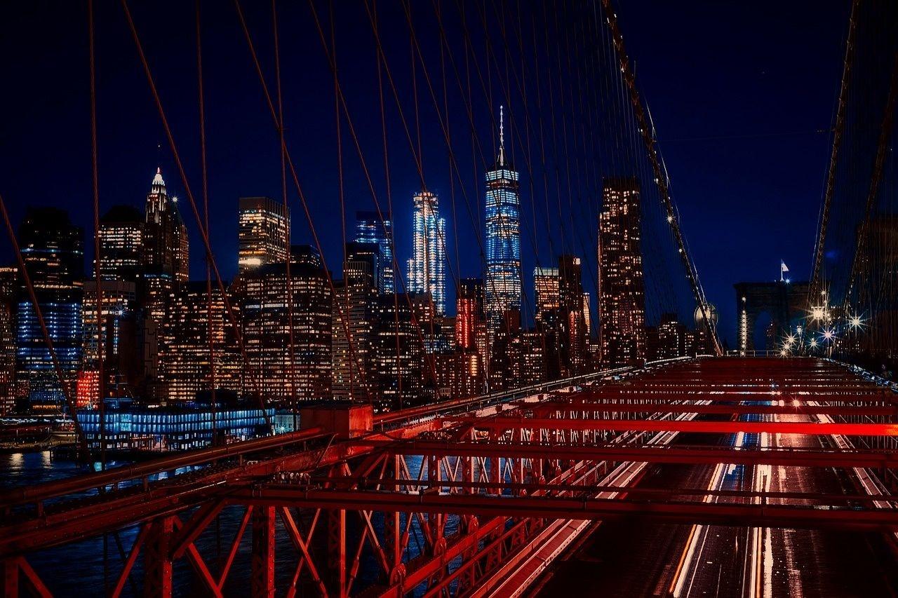New York, Brooklyn Bridge, YSG Solar