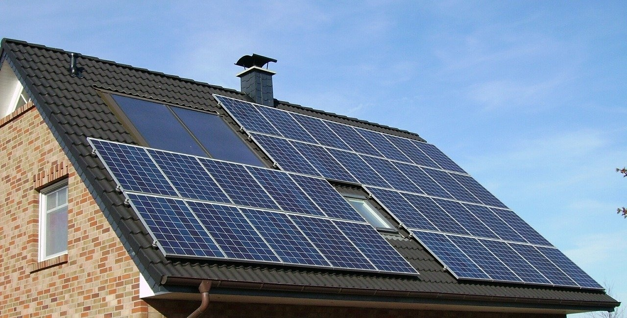 Solar Panels, Residential Solar, House