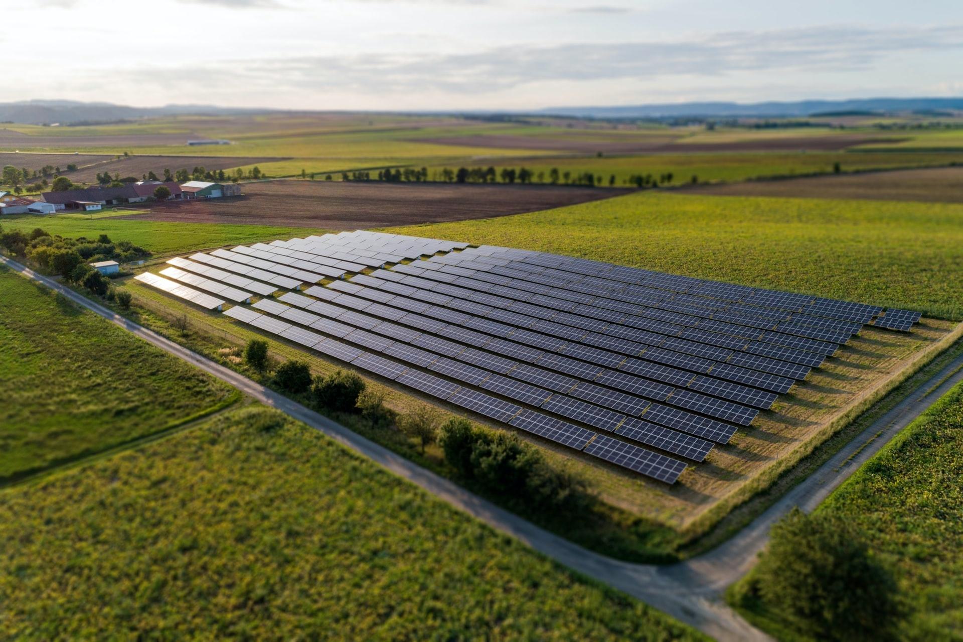 Solar Panel Farm, YSG Solar